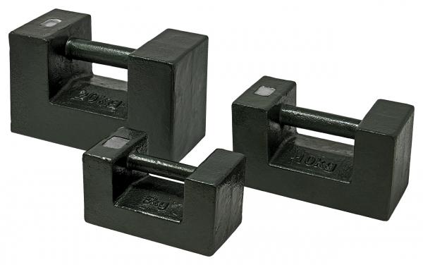 M3 Blockgewicht, Gusseisen lackiert 5 kg