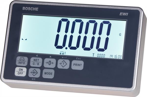 Weighing terminal EWI EWI-A Anzeige im Alugehäuse