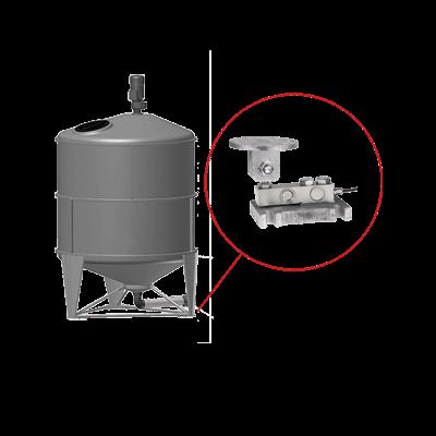 Behälterwaagen für Innen- und Außensilos