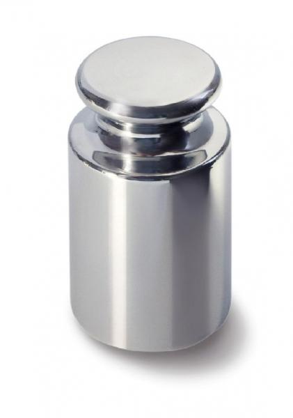 E1 Einzelgewicht, Knopfform aus Edelstahl poliert