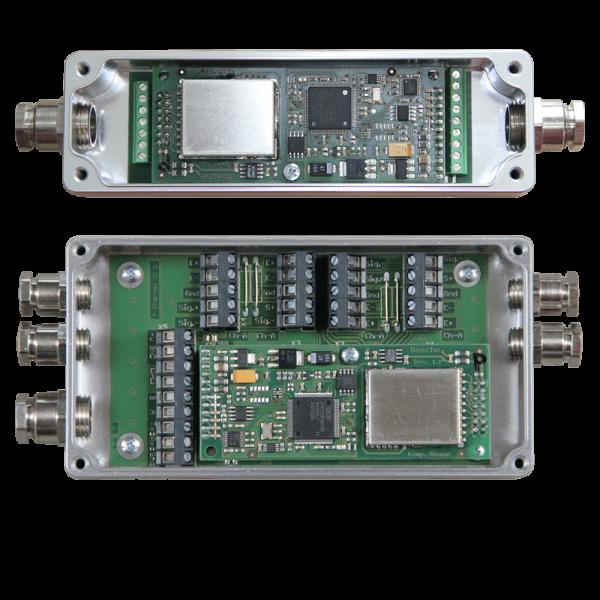 Eichfähige digitale Klemmkästen mit integriertem 24bit Interface