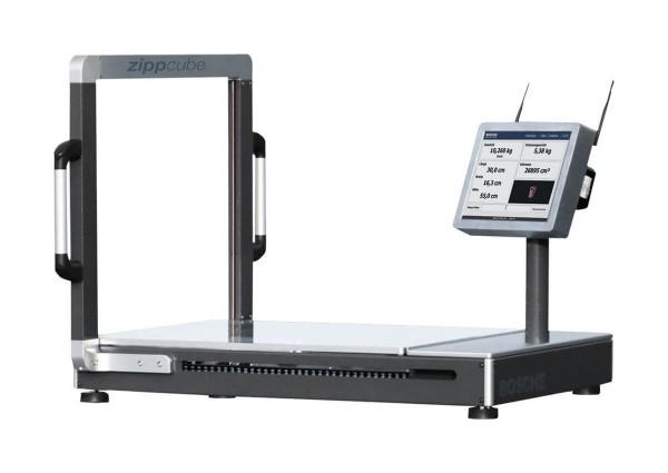 Halbautomatische Volumen- und Gewichtserfassung
