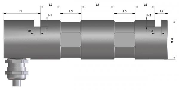 Lastmessbolzen - Kraftmessbolzen - lOAD PIN