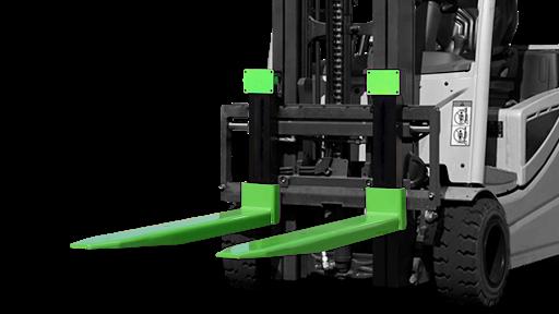 Waage für Gabelstapler - Einfacher Anbau einer Waage