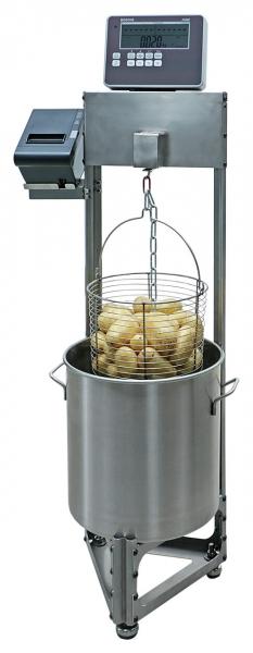 Manuelle Kartoffelstärkewaage bestimmt Stärkegehalt von Kartoffeln