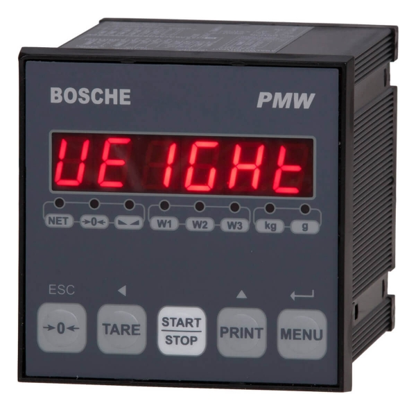 Prozesswägeterminal Bosche PMW