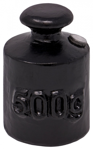 Handelsgewicht aus Gusseisen 500 g M3 Klasse