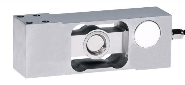 Strain gauge single point load cell - stainless steel