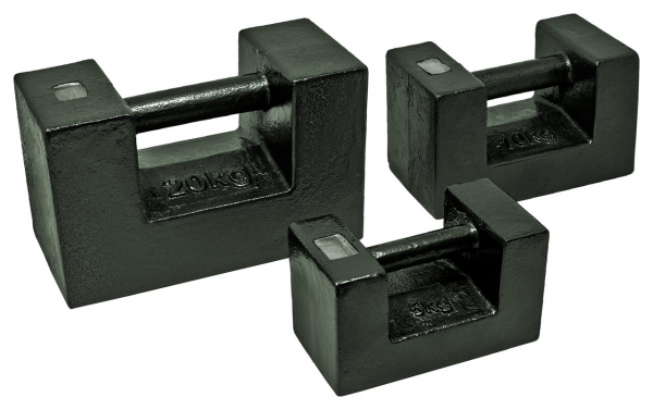 M3 Blockgewicht, Gusseisen lackiert
