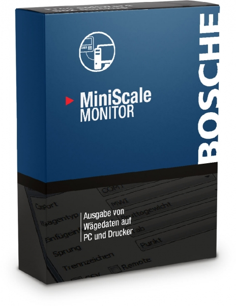 Software MiniScale Monitor