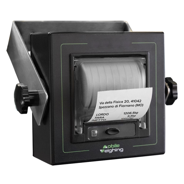 Thermodrucker für Staplerwaage