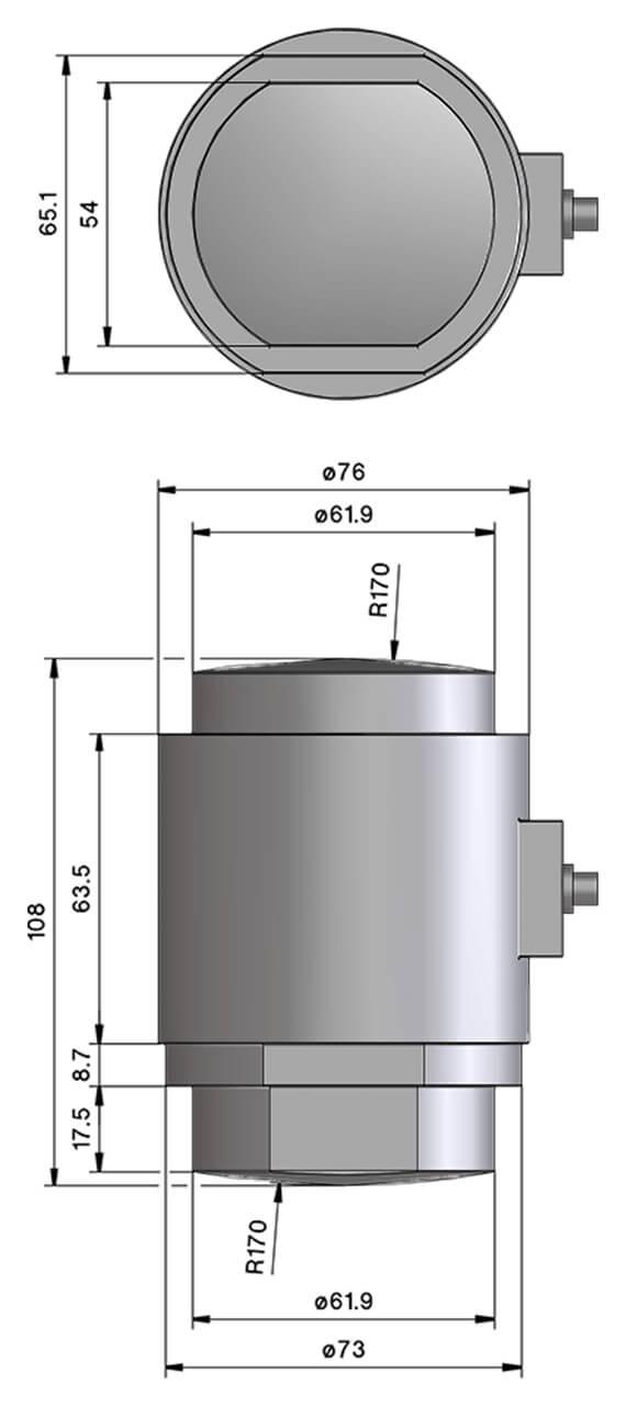 Druckkraftw-gezelle_C30_Zeichnung