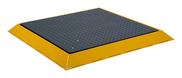 Bumper guard for floor scales 1000 x 1000 mm