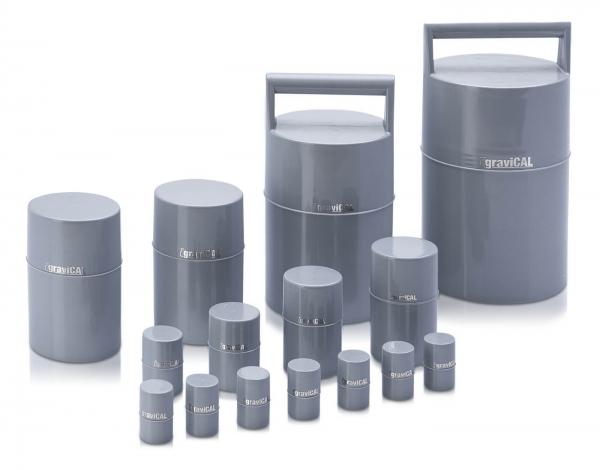 Kunststoffbehälter für Eichgewichte