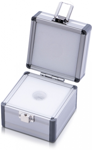 Aluminium Etui für Miligramgewichte