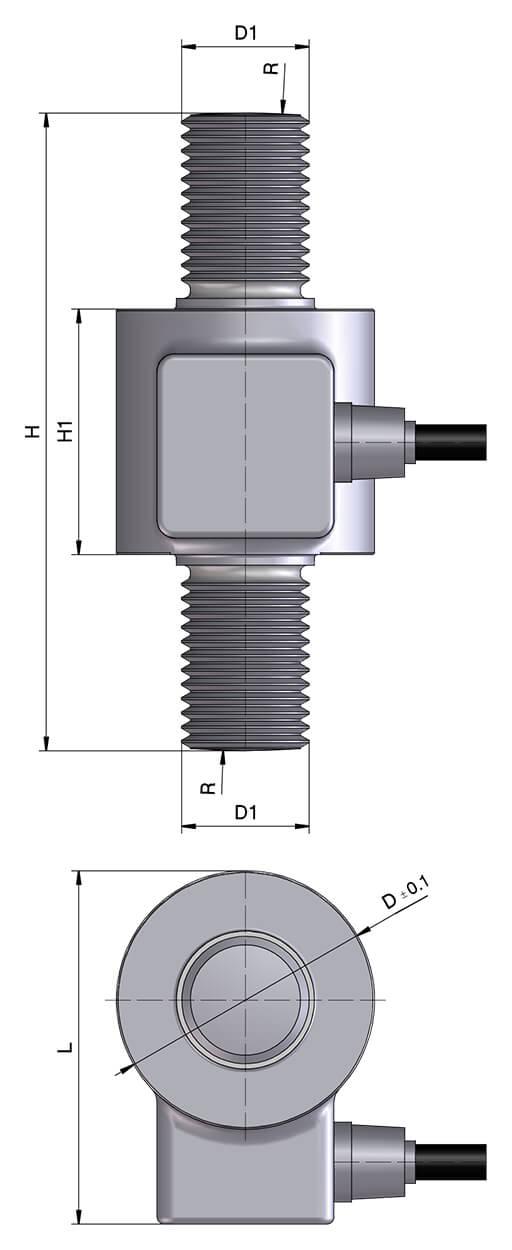 Zugkraftwaegezelle_C50N-zeichnung