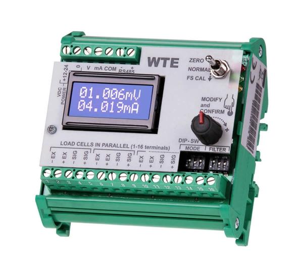 hochpräziser, analoger Messverstärker WTE