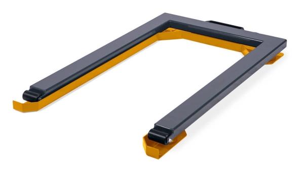 Ochrana pred kolíziami pre paletové váhy