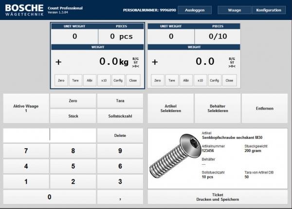 Softvér pre riadenie dvoch počítacích vách
