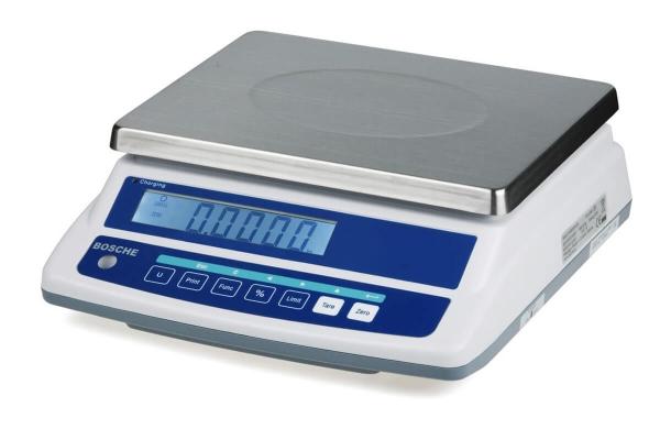 Tischwaage bis 30 kg geeicht