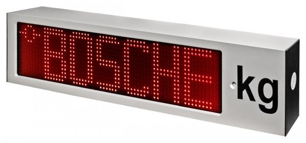 Fernanzeige für Waage mit ultrahellen LED