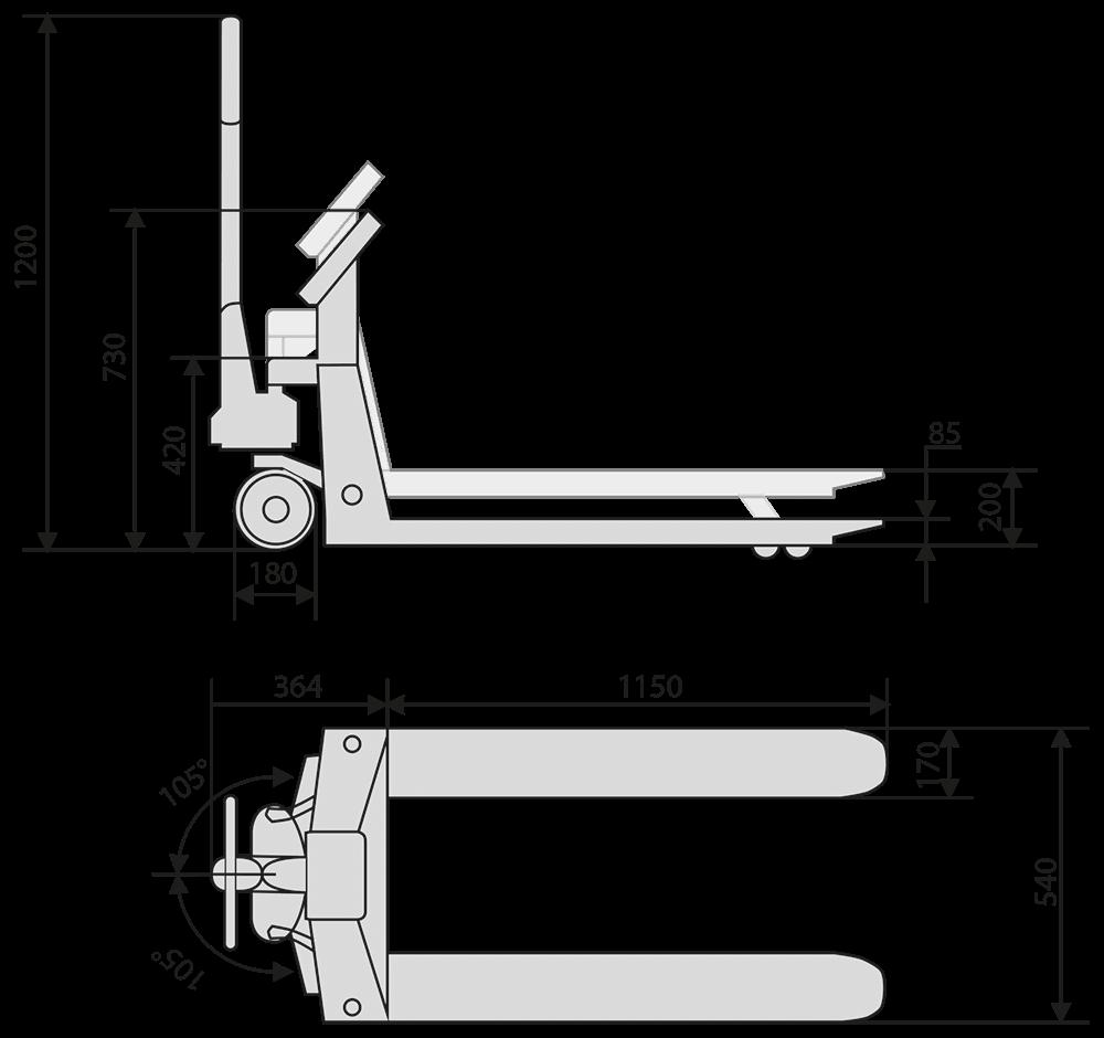 Hubwagen_Zeichnung