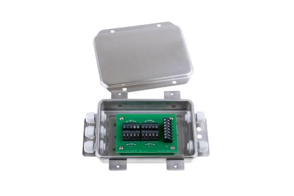 Klemm- und Trimmbox für Wägezellen