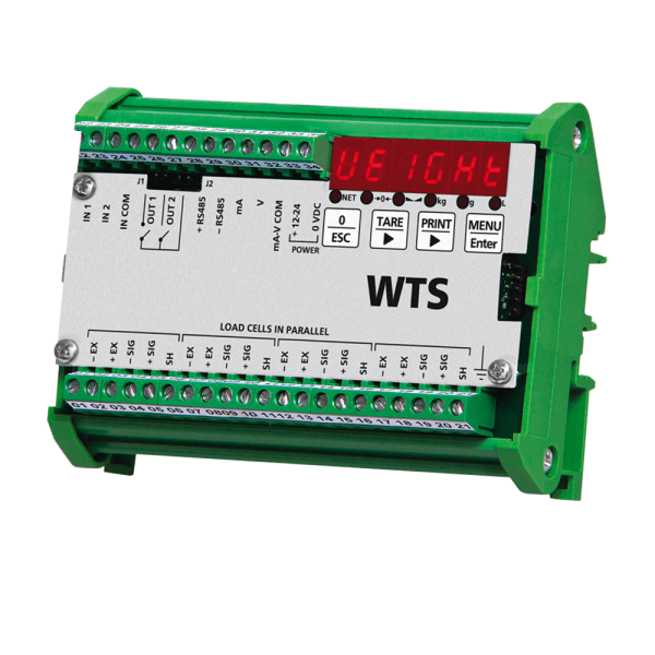 vielseitiger digitaler DMS-Messverstärker WTE